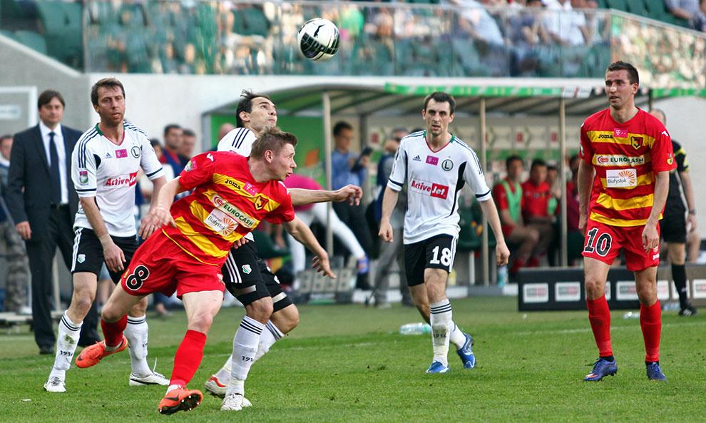 Legia Warszawa 1-1 Jagiellonia Białystok - fot. Piotr Galas (zdjęcie 36 z 94)