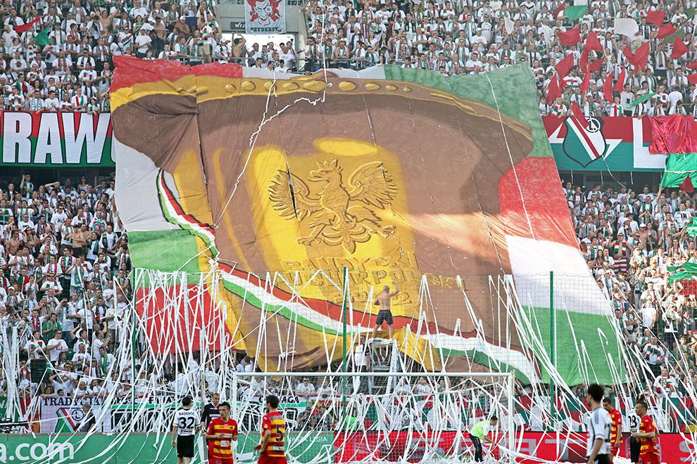 Legia Warszawa 1-1 Jagiellonia Białystok - fot. Piotr Galas (zdjęcie 4 z 94)