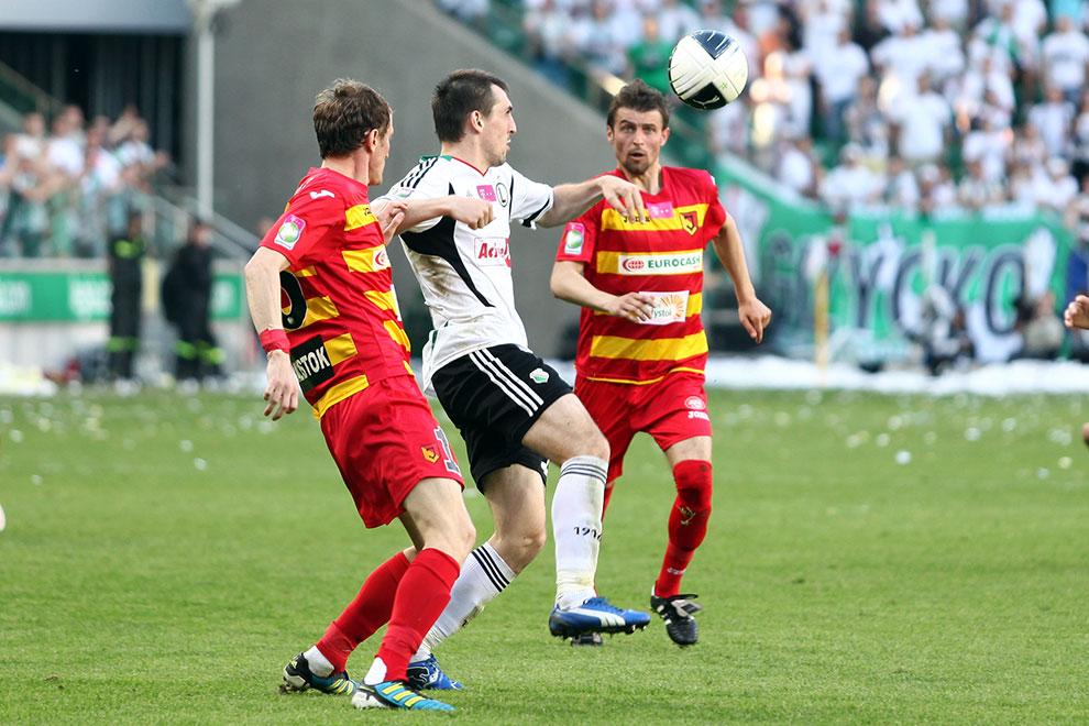 Legia Warszawa 1-1 Jagiellonia Białystok - fot. Piotr Galas (zdjęcie 45 z 94)