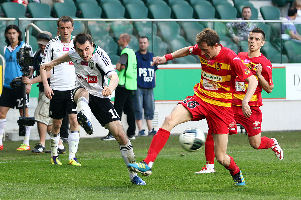 Legia Warszawa 1-1 Jagiellonia Białystok - fot. Piotr Galas (zdjęcie 47 z 94)