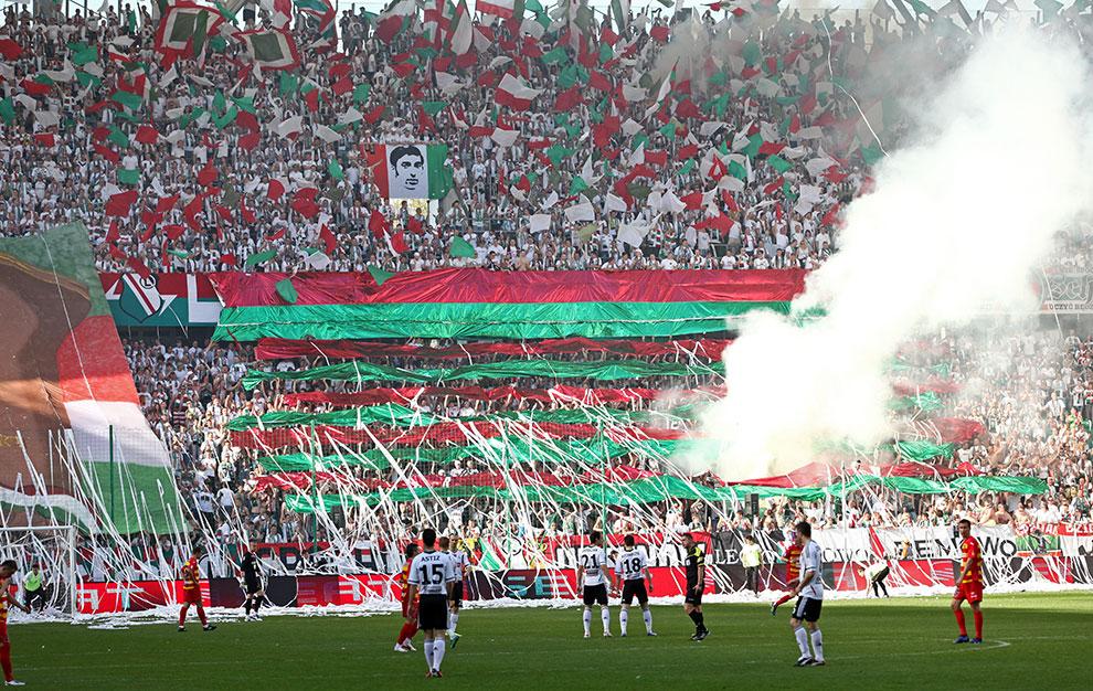 Legia Warszawa 1-1 Jagiellonia Białystok - fot. Piotr Galas (zdjęcie 5 z 94)