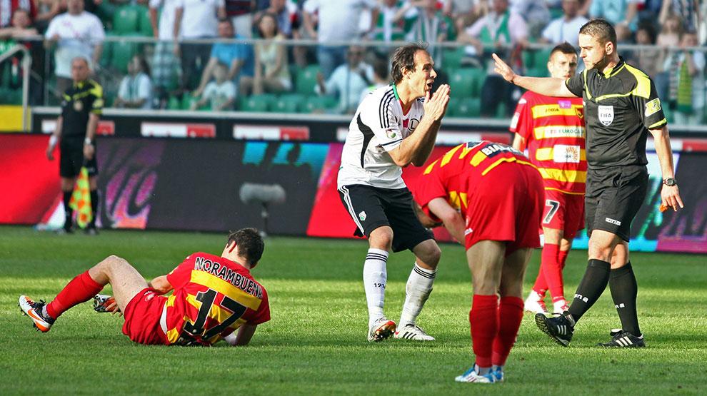 Legia Warszawa 1-1 Jagiellonia Białystok - fot. Piotr Galas (zdjęcie 51 z 94)