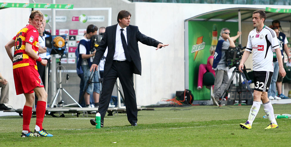 Legia Warszawa 1-1 Jagiellonia Białystok - fot. Piotr Galas (zdjęcie 52 z 94)