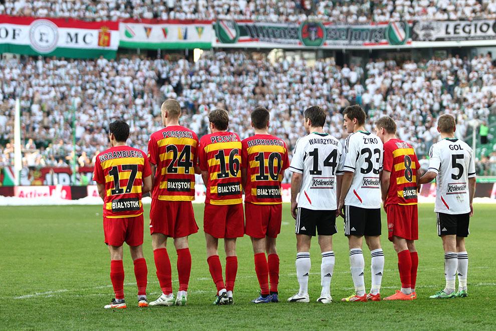 Legia Warszawa 1-1 Jagiellonia Białystok - fot. Piotr Galas (zdjęcie 56 z 94)