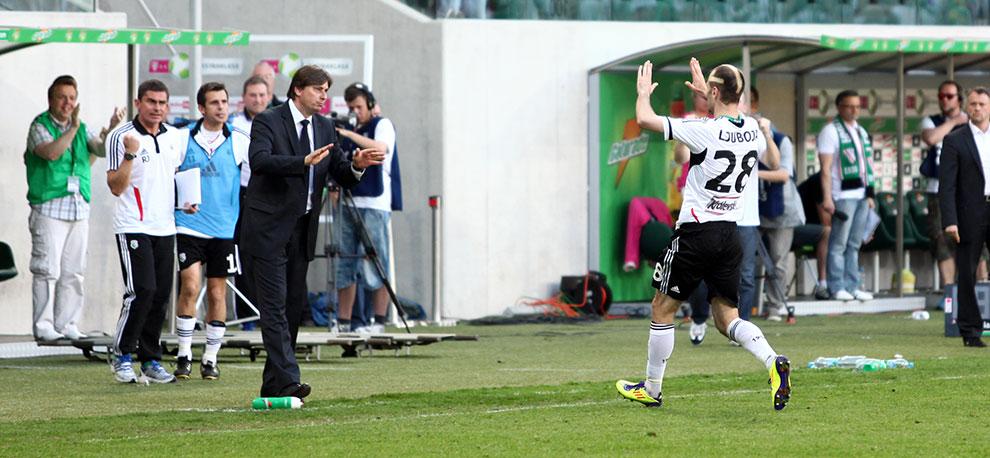Legia Warszawa 1-1 Jagiellonia Białystok - fot. Piotr Galas (zdjęcie 58 z 94)