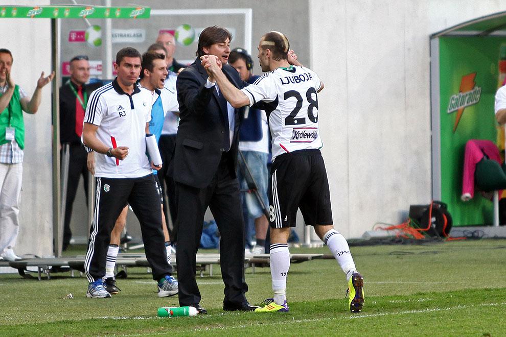 Legia Warszawa 1-1 Jagiellonia Białystok - fot. Piotr Galas (zdjęcie 59 z 94)
