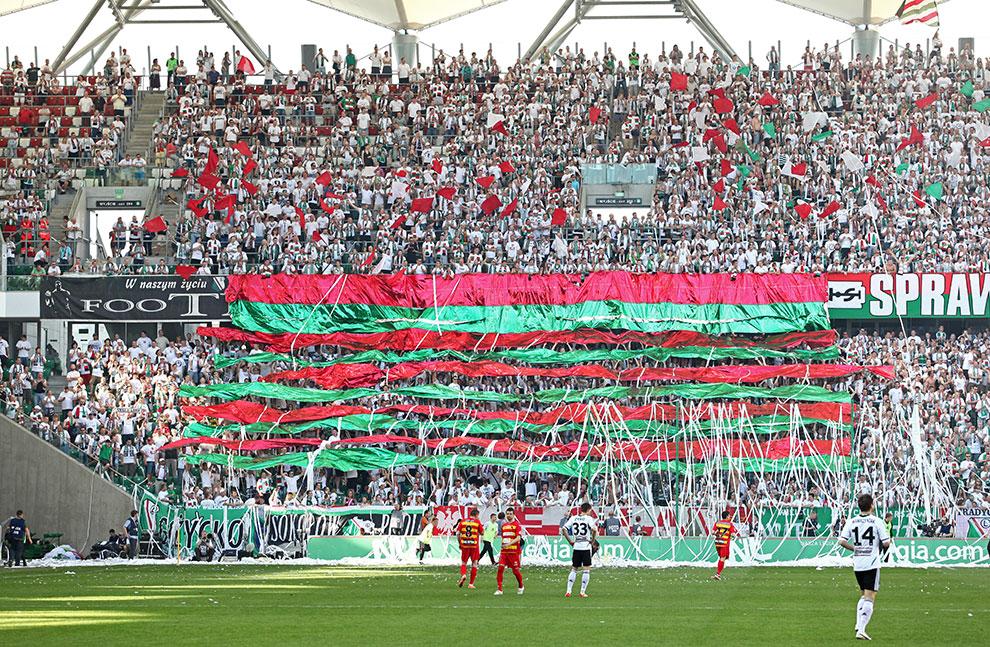 Legia Warszawa 1-1 Jagiellonia Białystok - fot. Piotr Galas (zdjęcie 6 z 94)
