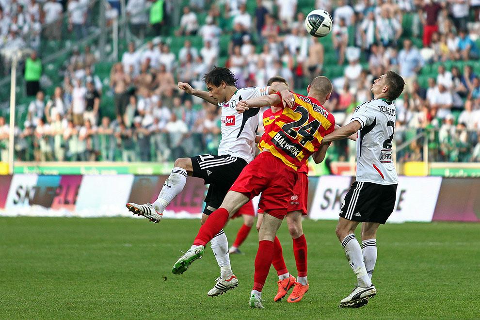 Legia Warszawa 1-1 Jagiellonia Białystok - fot. Piotr Galas (zdjęcie 64 z 94)