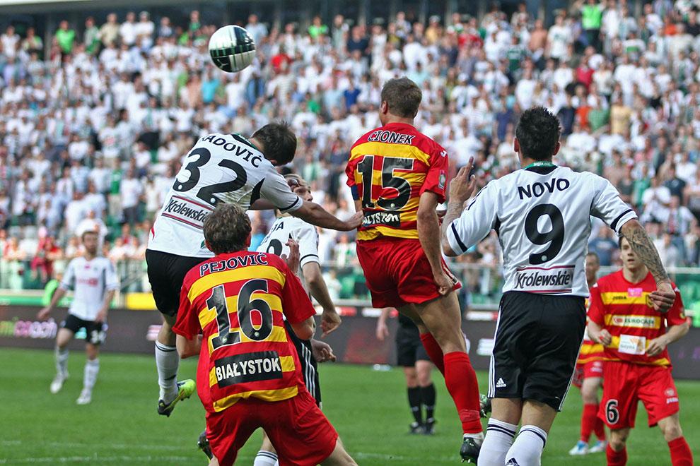 Legia Warszawa 1-1 Jagiellonia Białystok - fot. Piotr Galas (zdjęcie 66 z 94)
