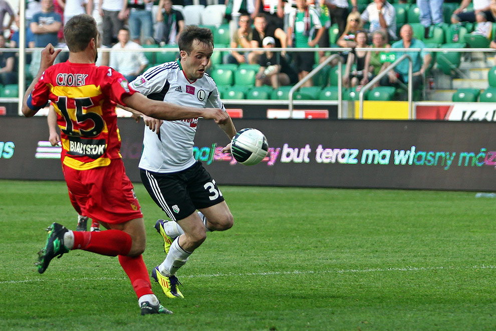 Legia Warszawa 1-1 Jagiellonia Białystok - fot. Piotr Galas (zdjęcie 67 z 94)