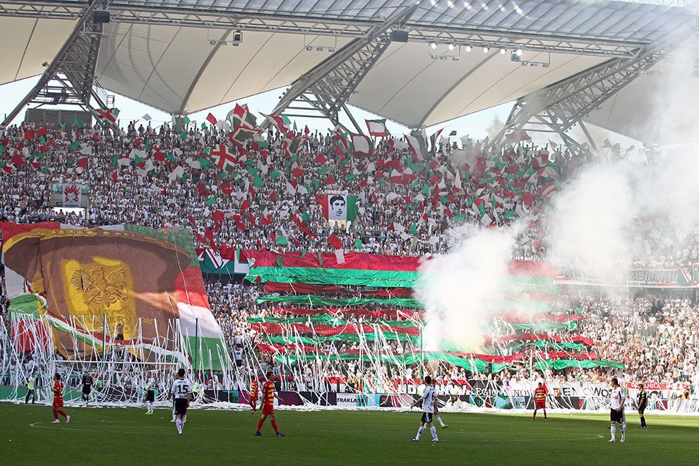 Legia Warszawa 1-1 Jagiellonia Białystok - fot. Piotr Galas (zdjęcie 7 z 94)