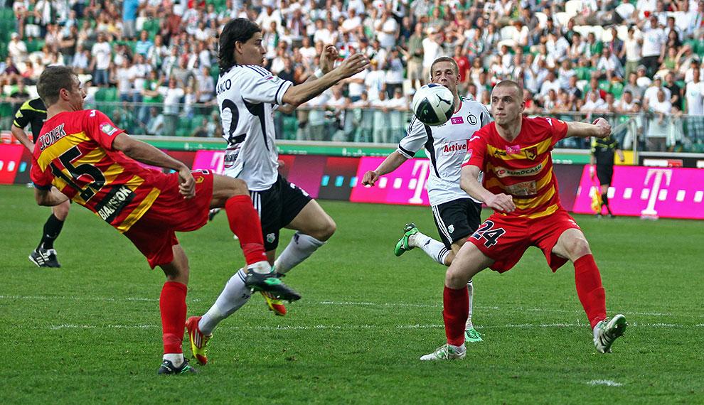 Legia Warszawa 1-1 Jagiellonia Białystok - fot. Piotr Galas (zdjęcie 71 z 94)