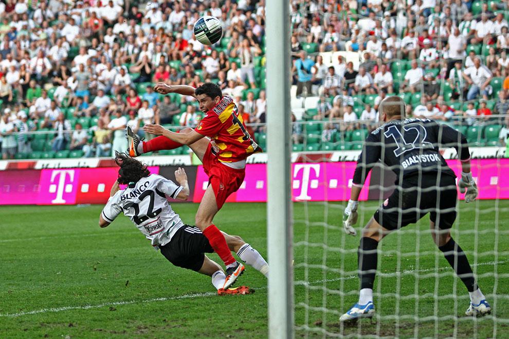 Legia Warszawa 1-1 Jagiellonia Białystok - fot. Piotr Galas (zdjęcie 73 z 94)