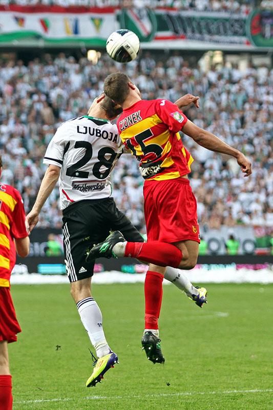 Legia Warszawa 1-1 Jagiellonia Białystok - fot. Piotr Galas (zdjęcie 76 z 94)