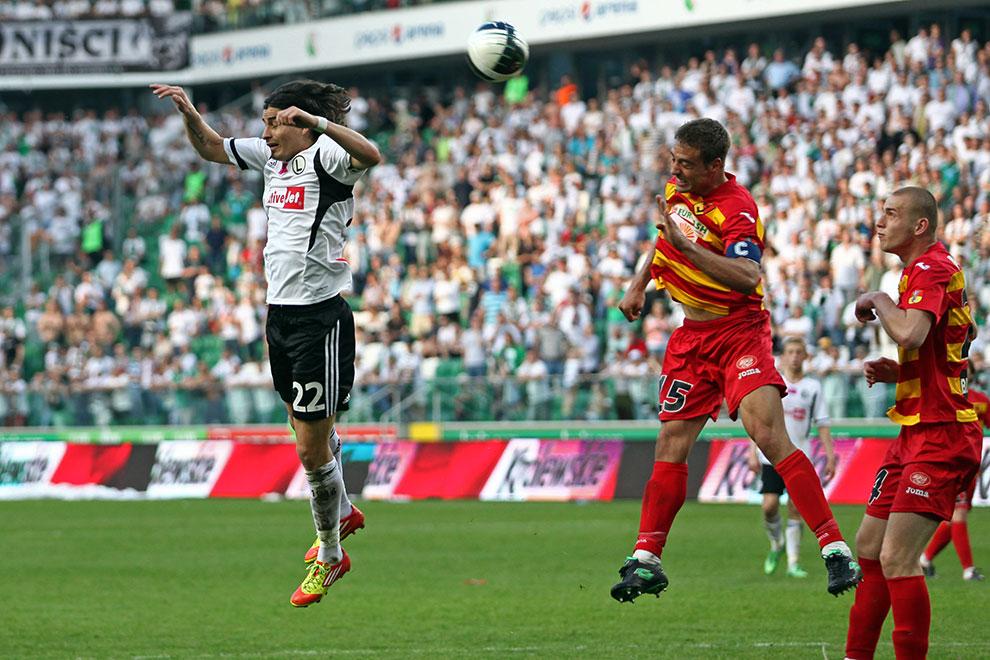 Legia Warszawa 1-1 Jagiellonia Białystok - fot. Piotr Galas (zdjęcie 77 z 94)
