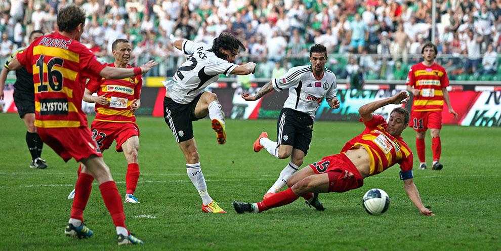 Legia Warszawa 1-1 Jagiellonia Białystok - fot. Piotr Galas (zdjęcie 78 z 94)