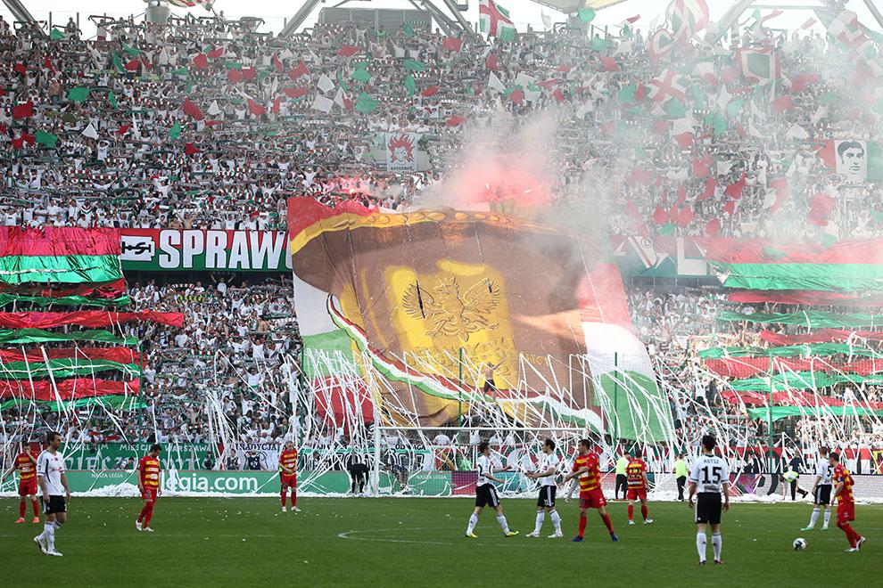 Legia Warszawa 1-1 Jagiellonia Białystok - fot. Piotr Galas (zdjęcie 8 z 94)