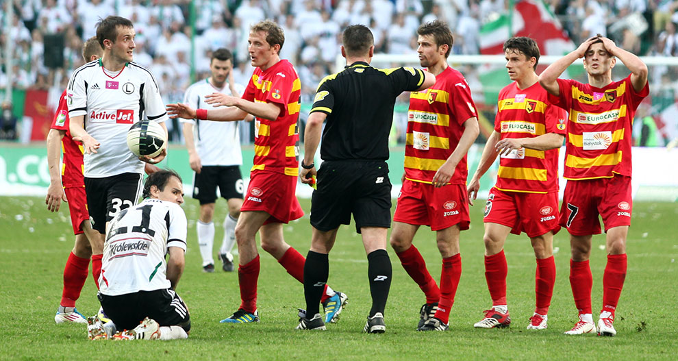 Legia Warszawa 1-1 Jagiellonia Białystok - fot. Piotr Galas (zdjęcie 80 z 94)
