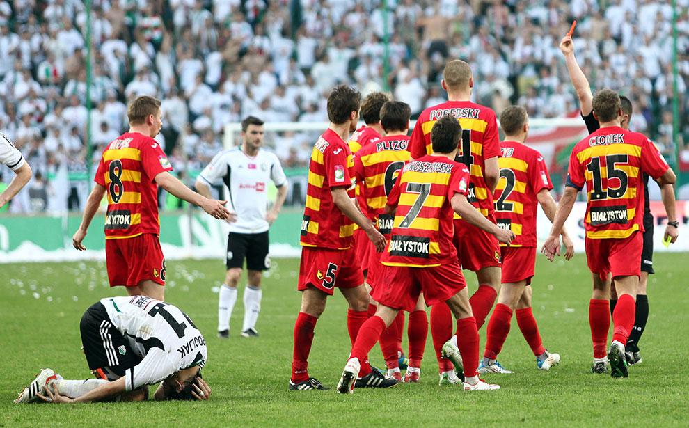 Legia Warszawa 1-1 Jagiellonia Białystok - fot. Piotr Galas (zdjęcie 81 z 94)