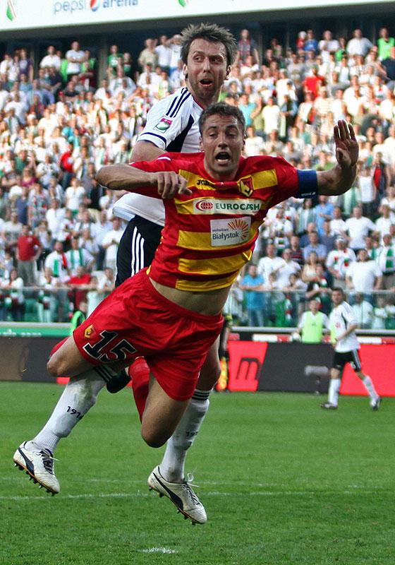 Legia Warszawa 1-1 Jagiellonia Białystok - fot. Piotr Galas (zdjęcie 85 z 94)
