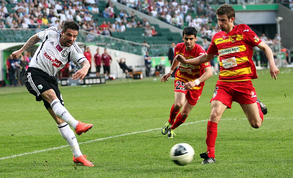 Legia Warszawa 1-1 Jagiellonia Białystok - fot. Piotr Galas (zdjęcie 86 z 94)