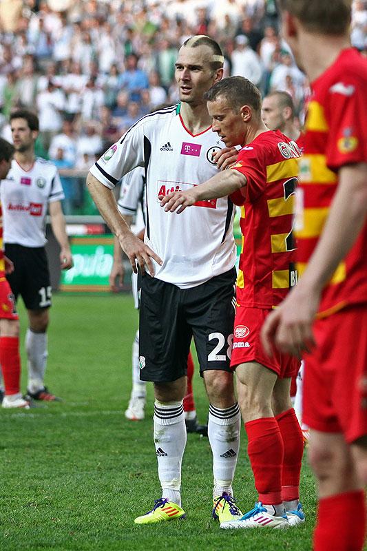 Legia Warszawa 1-1 Jagiellonia Białystok - fot. Piotr Galas (zdjęcie 87 z 94)
