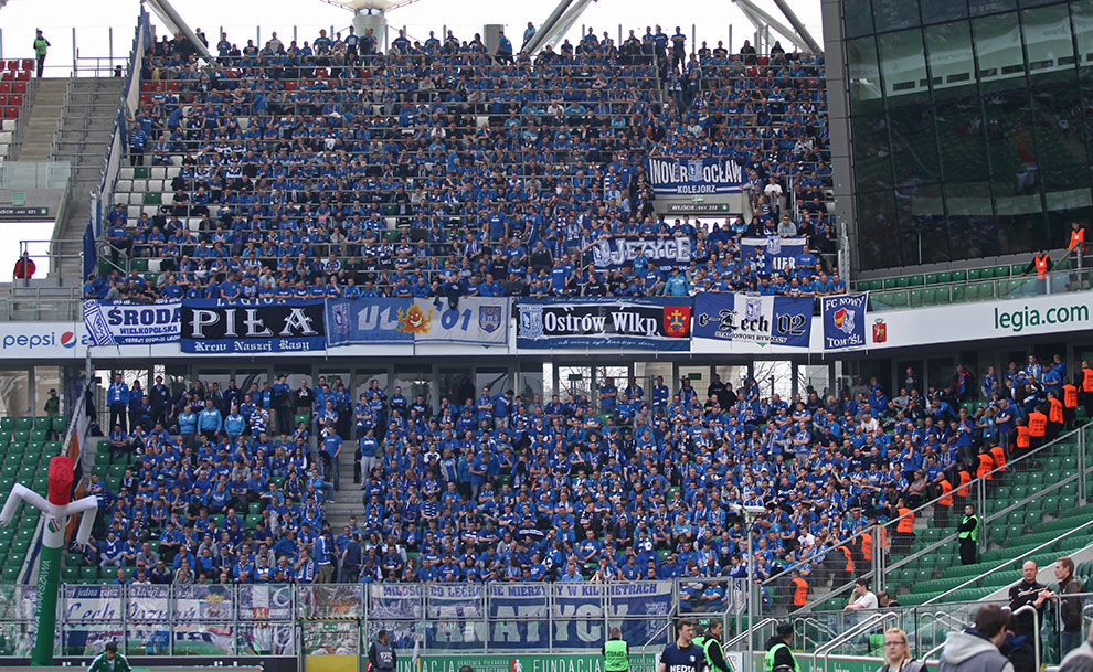 Legia Warszawa 0-1 Lech Poznań - fot. Piotr Galas (zdjęcie 2 z 103)