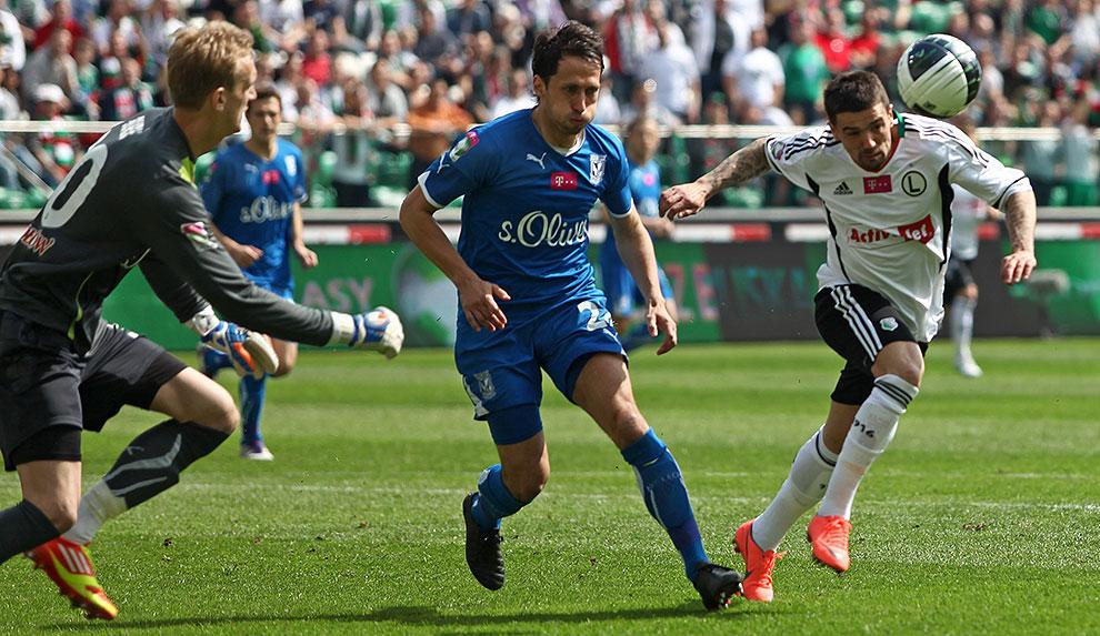 Legia Warszawa 0-1 Lech Poznań - fot. Piotr Galas (zdjęcie 33 z 103)