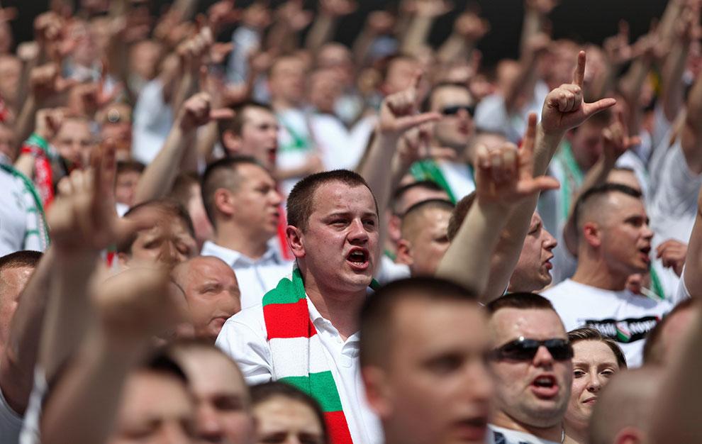 Legia Warszawa 0-1 Lech Poznań - fot. Piotr Galas (zdjęcie 39 z 103)