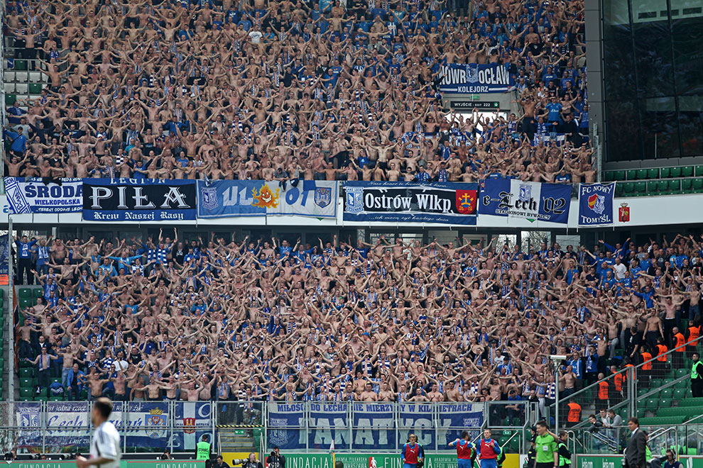Legia Warszawa 0-1 Lech Poznań - fot. Piotr Galas (zdjęcie 50 z 103)
