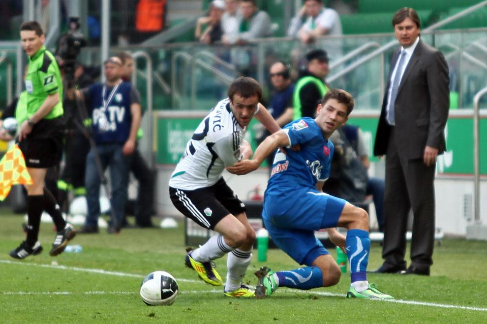 Legia Warszawa 0-1 Lech Poznań - fot. Piotr Galas (zdjęcie 54 z 103)