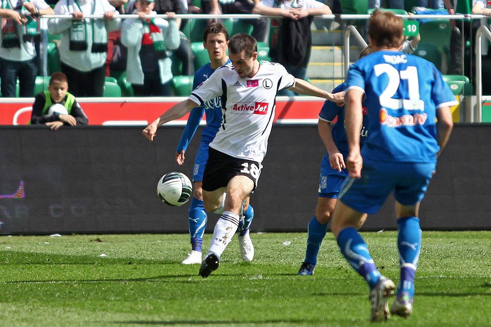 Legia Warszawa 0-1 Lech Poznań - fot. Piotr Galas (zdjęcie 57 z 103)