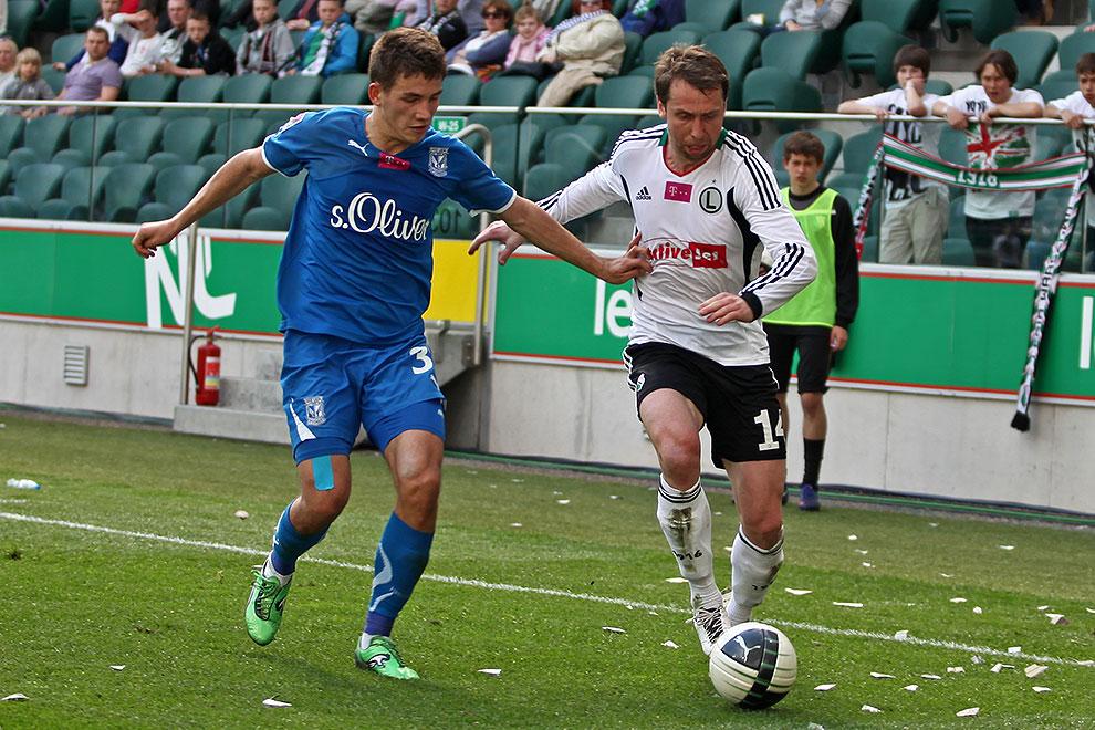Legia Warszawa 0-1 Lech Poznań - fot. Piotr Galas (zdjęcie 61 z 103)