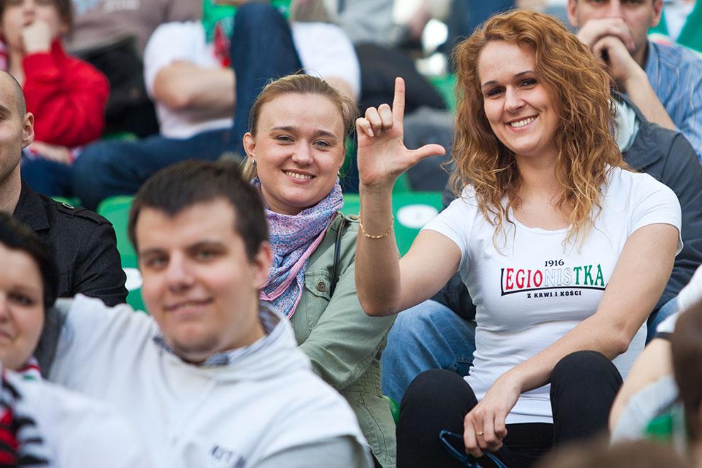 Legia Warszawa 0-1 Lech Poznań - fot. Piotr Galas (zdjęcie 72 z 103)