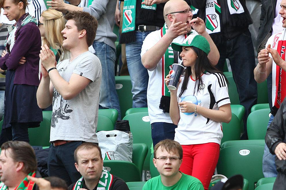 Legia Warszawa 0-1 Lech Poznań - fot. Piotr Galas (zdjęcie 76 z 103)
