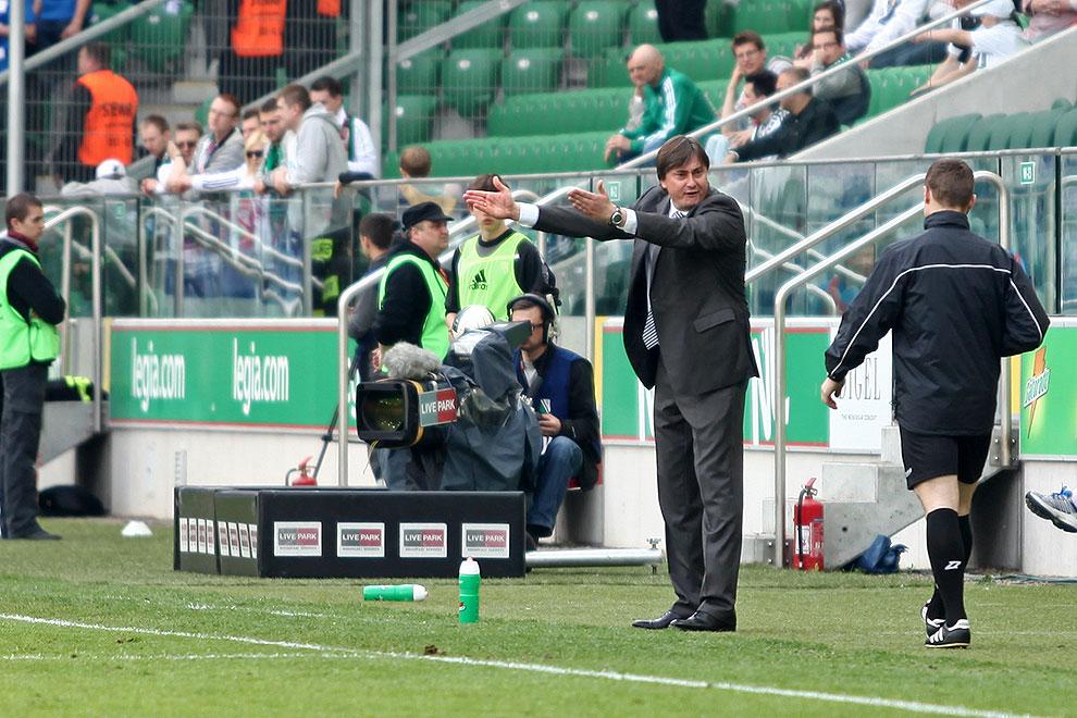 Legia Warszawa 0-1 Lech Poznań - fot. Piotr Galas (zdjęcie 77 z 103)