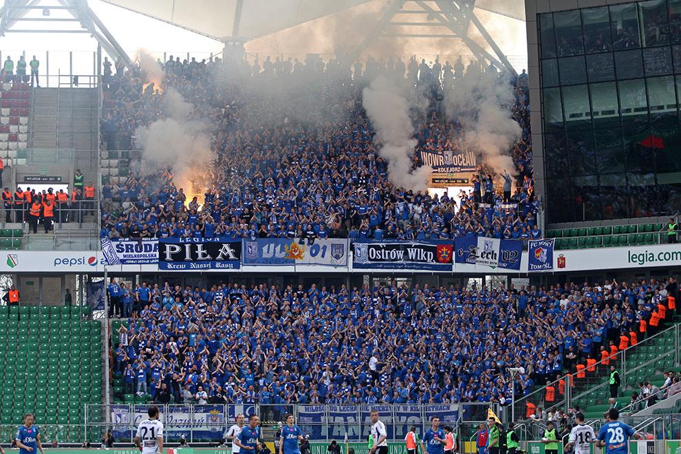 Legia Warszawa 0-1 Lech Poznań - fot. Piotr Galas (zdjęcie 82 z 103)