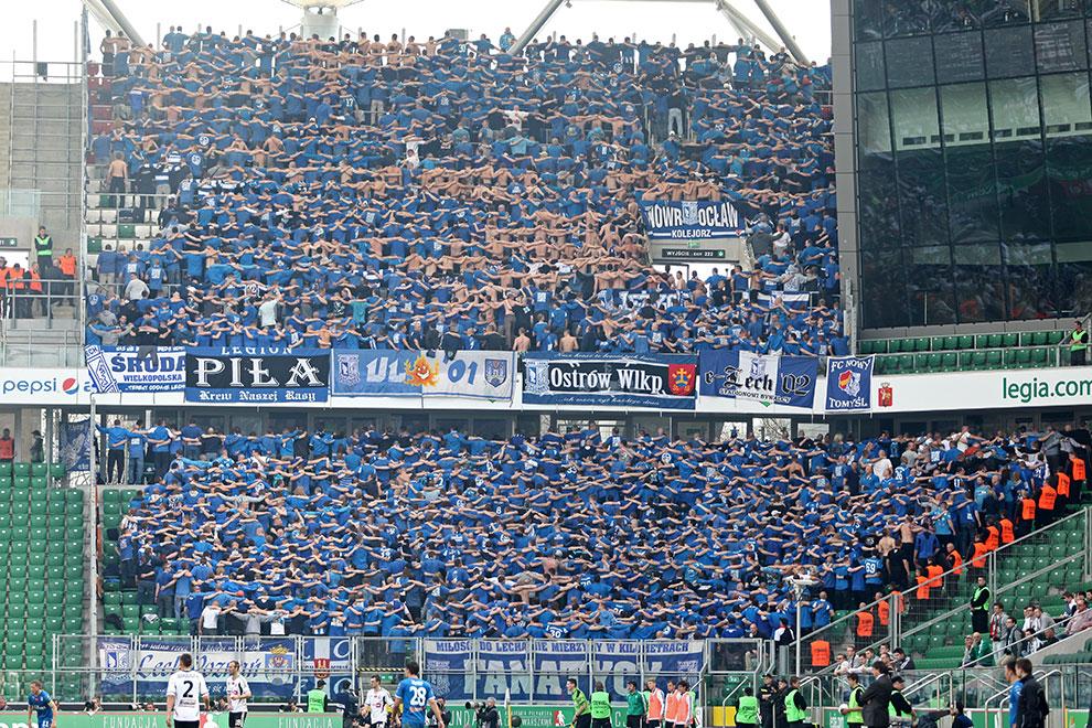 Legia Warszawa 0-1 Lech Poznań - fot. Piotr Galas (zdjęcie 86 z 103)
