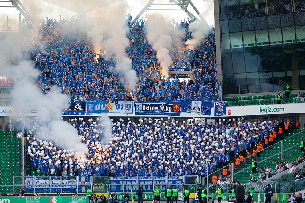 Legia Warszawa 0-1 Lech Poznań - fot. Piotr Galas (zdjęcie 89 z 103)