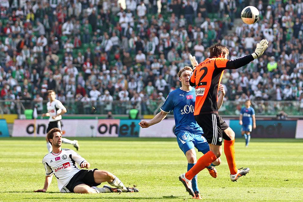 Legia Warszawa 0-1 Lech Poznań - fot. Piotr Galas (zdjęcie 90 z 103)