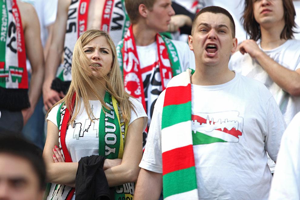 Legia Warszawa 0-1 Lech Poznań - fot. Piotr Galas (zdjęcie 94 z 103)