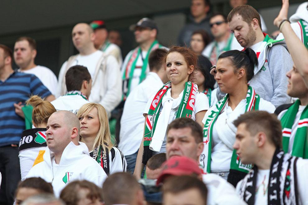 Legia Warszawa 0-1 Lech Poznań - fot. Piotr Galas (zdjęcie 96 z 103)