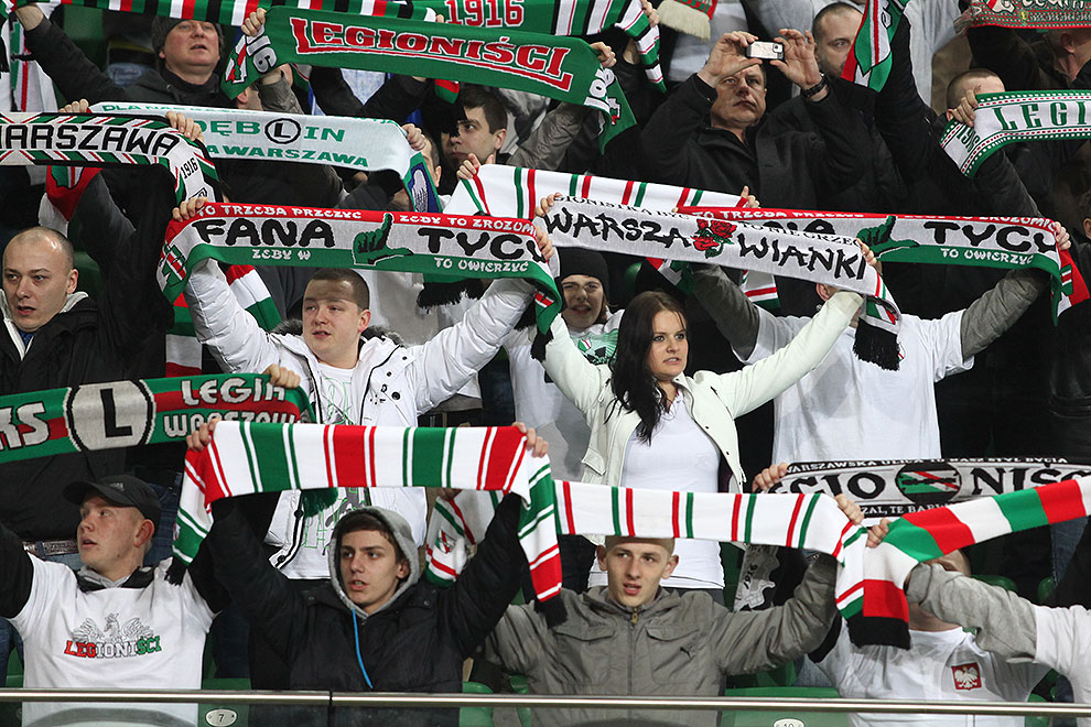 Legia Warszawa 0-0 Polonia Warszawa - fot. Piotr Galas (zdjęcie 10 z 64)