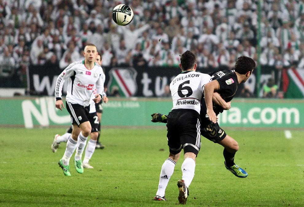 Legia Warszawa 0-0 Polonia Warszawa - fot. Piotr Galas (zdjęcie 26 z 64)