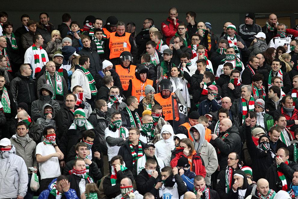 Legia Warszawa 0-0 Polonia Warszawa - fot. Piotr Galas (zdjęcie 33 z 64)