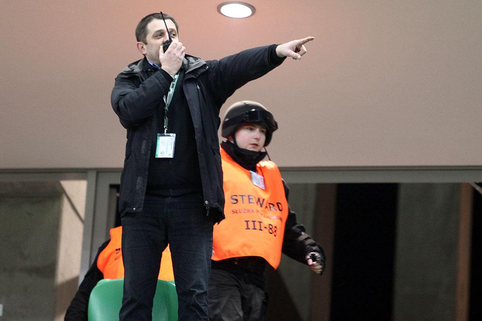 Legia Warszawa 0-0 Polonia Warszawa - fot. Piotr Galas (zdjęcie 35 z 64)