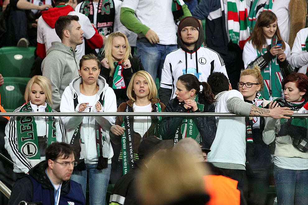 Legia Warszawa 0-0 Polonia Warszawa - fot. Piotr Galas (zdjęcie 48 z 64)