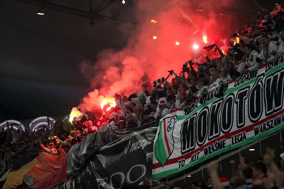Legia Warszawa 0-0 Polonia Warszawa - fot. Piotr Galas (zdjęcie 50 z 64)