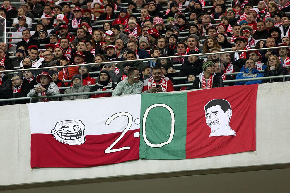 Polska 0-0 Portugalia - fot. Piotr Galas (zdjęcie 43 z 68)