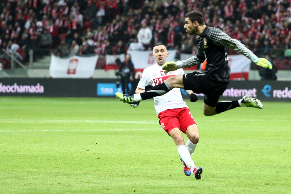 Polska 0-0 Portugalia - fot. Piotr Galas (zdjęcie 50 z 68)